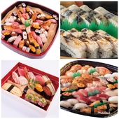 『テイクアウト』大人数での盛り込み寿司♪