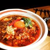 鶏殼麻婆麺
