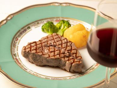 特選牛肉網焼ビフテキコース M