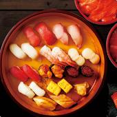 東京下町で育まれた、伝統の江戸前寿司をお届けいたします。