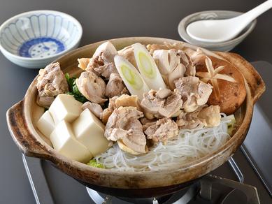 鳥の水炊き鍋(コラーゲン鍋)