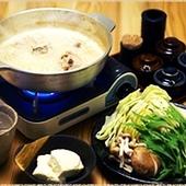 焼き鳥風の水炊き(小鍋)