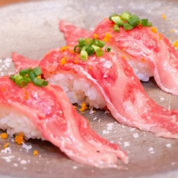 【肉寿司食べ放題プラン!!】 全8品×2h飲み放題付2980円