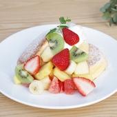季節のフレッシュフルーツパンケーキ