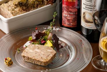素朴な風味を楽しんで『素朴なパテ ド カンパーニュ』