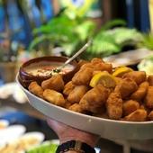 ブラジルのお惣菜は揚げたてをどうぞ