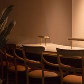 「シェフズテーブル」シェフを囲む8席だけの特別なカウンター
