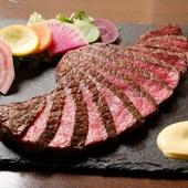 A5ランク黒毛和牛赤身肉100g