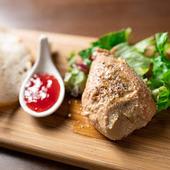 フォアグラと鶏レバーのムース