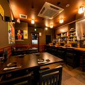 大山鶏の焼き鳥と湘南で獲れた地魚や地野菜を堪能できる居酒屋