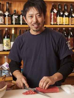 店主、石川さん 氏