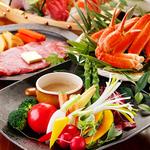 地鶏から鮮魚まで堪能できるコース!魚の干物炭火焼は潮の香り豊か素材の味。メインは大山地鶏もも炭火焼!