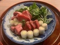 伝統料理「ねぎま鍋」を堪能