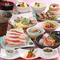 旬の食材をふんだんに使った会席仕立ての「旬の美食コース」 全11品